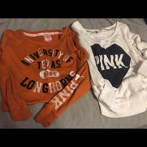 BUNDLE of two - Victoria's Secret Pink sweaters